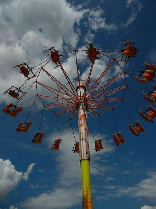 Kettenkarussel Fair Year Market Folk Festival