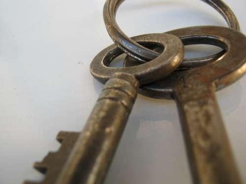 Key Metal Close Large Tool