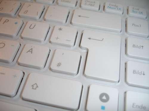 Keyboard Chiclet Keyboard Keys Input Device