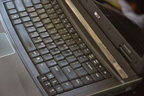 Keyboard Computer Computers Laptop Equipment