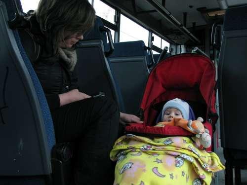 Kid Baby Mammy Infant Child Stroller