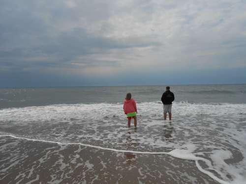 Kids On Beach Beach Walk On Beach Kids Ocean