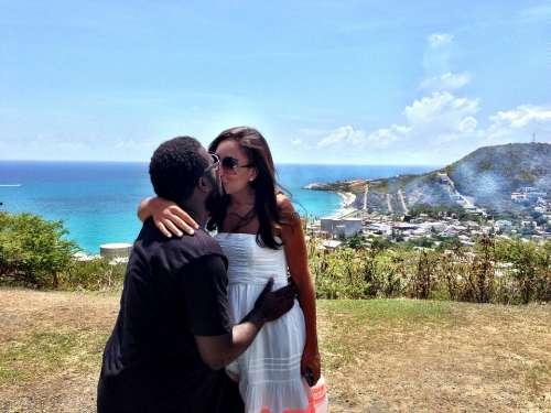 Kiss Love Paradise Romance Relationship Happiness