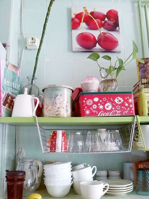 Kitchen Dishes Cups Tableware Vessels Tea