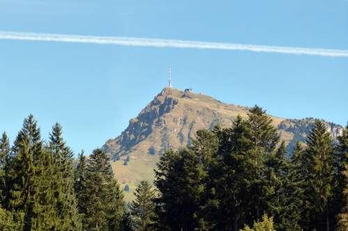 Kitzbüheler Horn Mountain Peak Transmission Tower