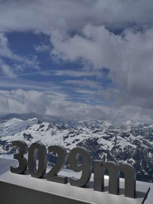 Kitzsteinhorn Mountains Sky Clouds Pay Digits