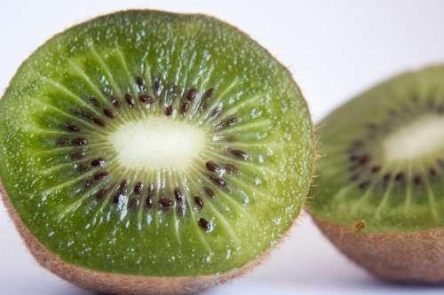 Kiwi Fruit Cut Healthy Food Fresh Juicy Tropical