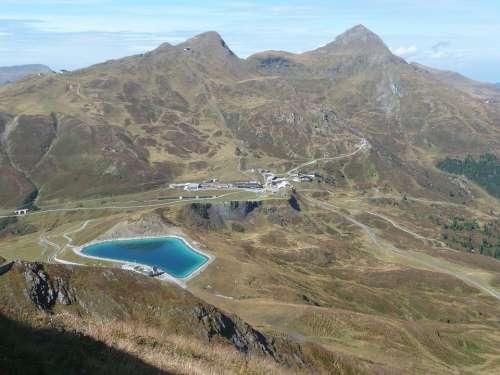 Kleine Scheidegg Bernese Oberland Eigertrail Bergsee