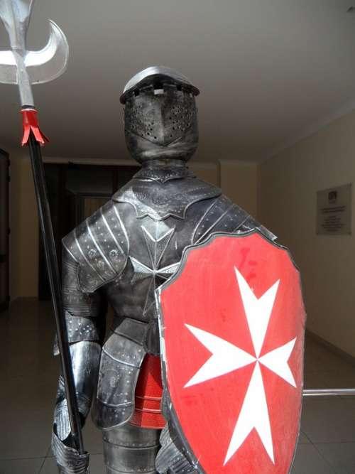 Knight Armor Ritterruestung Malta Knights