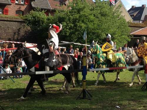 Knight Games Xanten Germany Knights Tournament