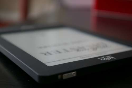 Kobo Black Reading Light Electronics Reading