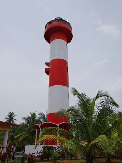Kodi Beach Lighthouse Kundapura Arabian Sea