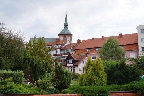 Kołobrzeg Historic Center Building City View