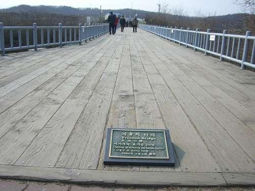 Korea Dmz Border South Korea Zone Bridge