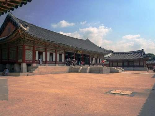 Korea Building Monument Seoul King