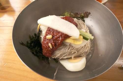 Korean Food Noodle Food Korean