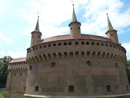Krakow Poland City City Gate Historic Center