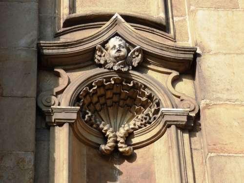 Kraków Sculpture Emboss Ornament Fine Art
