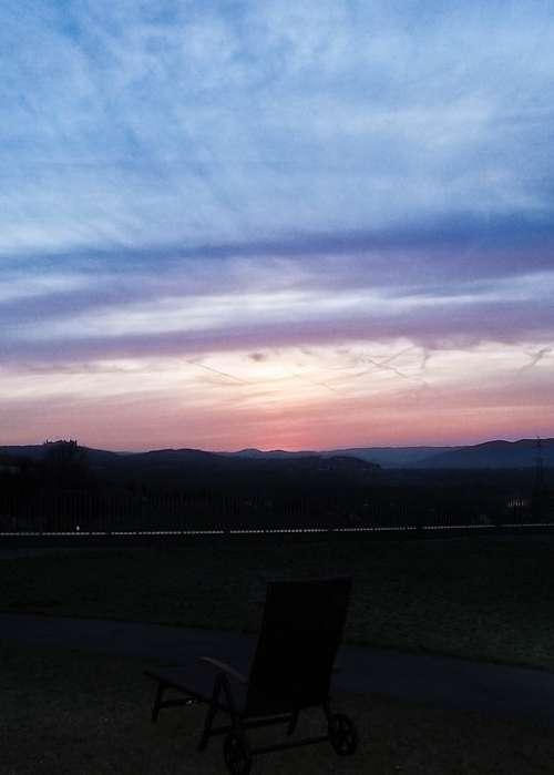 Krems Austria Blue Light Sky Atmosphere Dusk