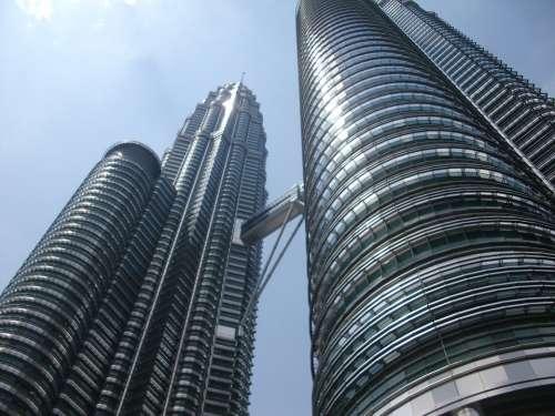 Kuala Lumpur Petronas Twin Towers Sky Building
