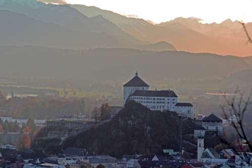 Kufstein Tyrol Inntal Valley Castle Alpine Austria