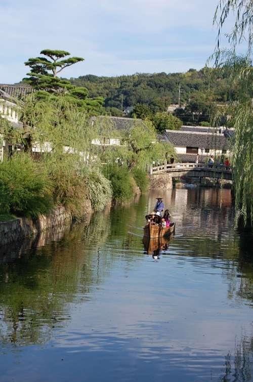 Kurashiki Okayama River Beauty Zone Japan