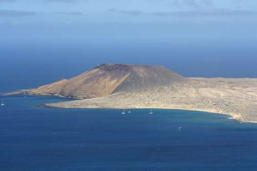La Graciosa Island Canary Islands Good View Outlook
