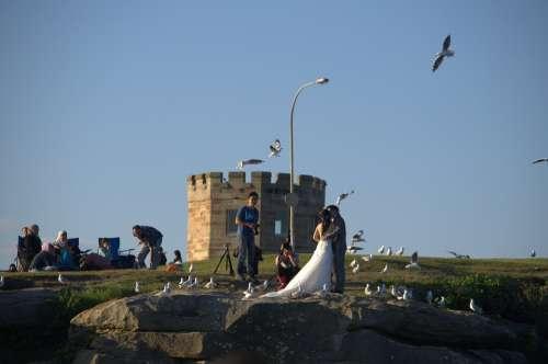 La Perouse New South Wales Wedding Taking Photo