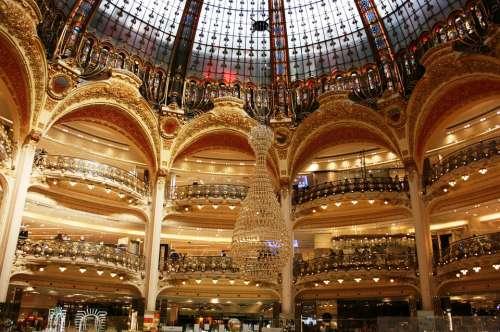 Lafayette Galleries Lafayette Arcos Dome Paris