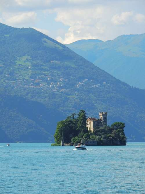 Lago Diseo Italy Nature Water Landscapes Lake
