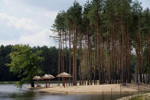 Lagoon Holidays Nature Water Krasnobrod Landscape