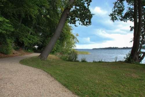 Lake Schweriner See Landscape Nature Water Trail