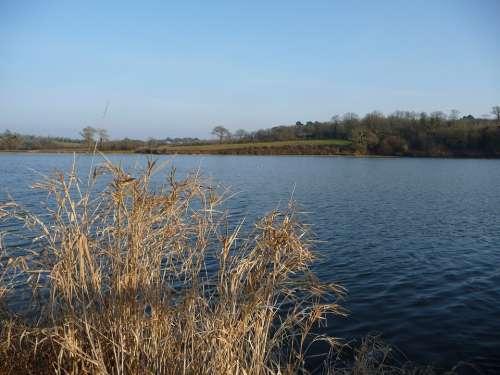 Lake The Jaunay Lake Landscape Nature