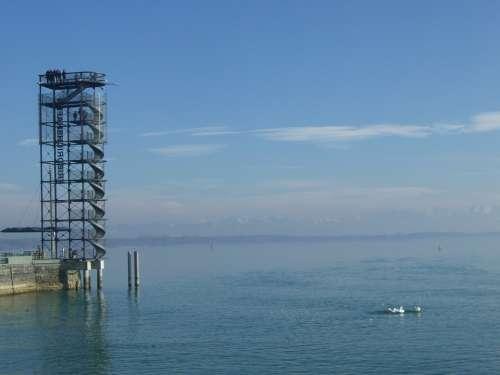 Lake Constance Friedrichshafen Observation Tower