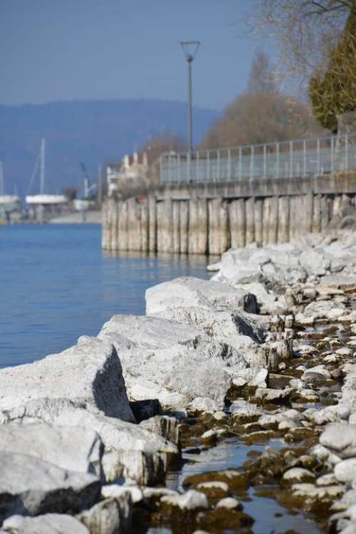 Lake Constance Water Beach Stones