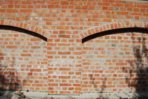 Lake Dusia Brick Wall
