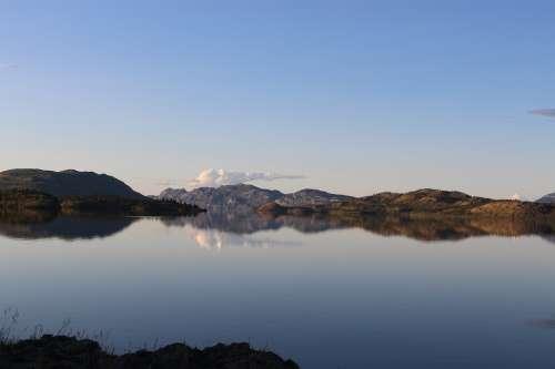 Lake Laberge Yukon Canada Lake Whitehorse Nature