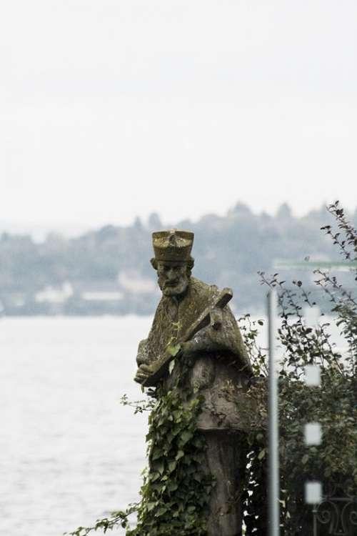 Lake Saint Statue Lake Constance Holy