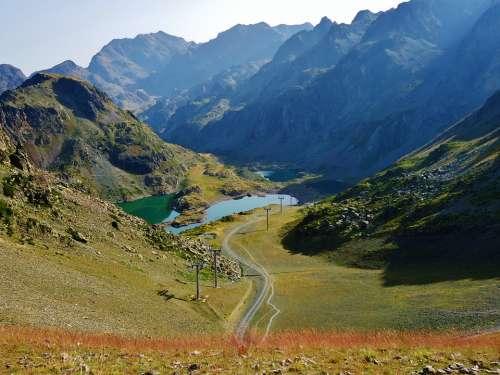 Lakes Robert Chamrousse Alps Hiking France
