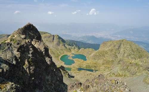 Lakes Robert Lakes Mountain Summit Panoramic Views