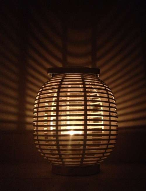 Lamp Candle Atmosphere Light Shadow Decoration