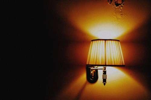 Lamp Light Electricity Bright Shine Night