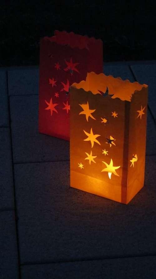 Lampion Light Hell Lighting Star Lantern