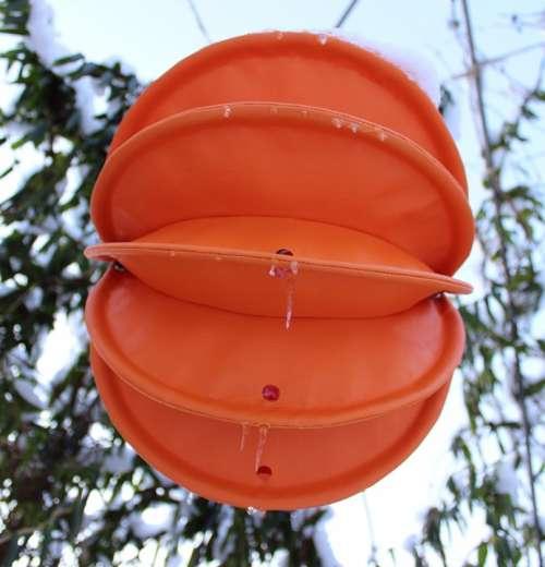 Lampion Weatherproof Robust Snow Lighting Garden