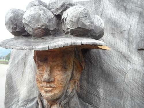Landmark Costume Black Forest Portrait Face