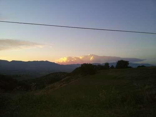 Landscape Sunset Campaign Sky Cloud