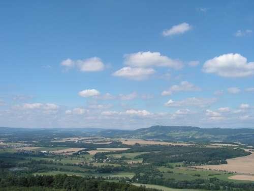 Landscape Clouds Natural Sky Mountain Cloud