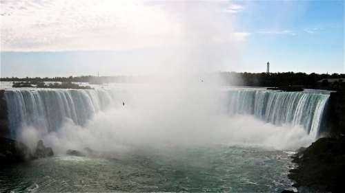 Landscape River Water Niagarafalls Nature