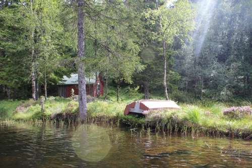 Landscape Lake Norway