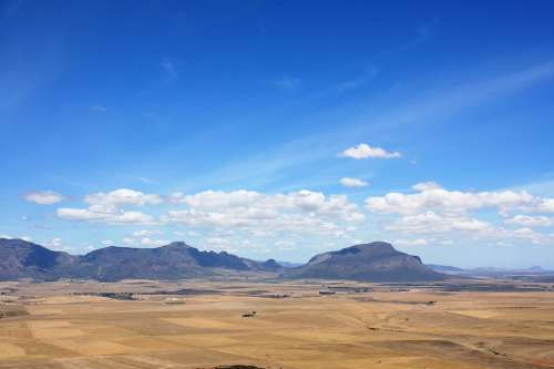 Landscape Desert South Africa Vacations Hot Arid
